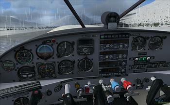 Microsoft Flight Simulator X: Gold Edition on flightpath to